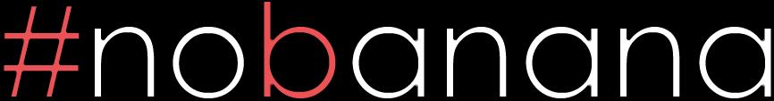 Logo #nobanana